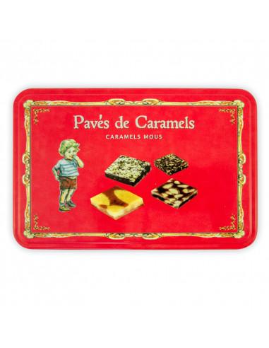 Caramels assortis - Boite métallique...