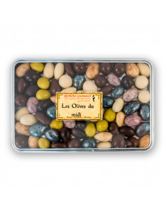 Olives en chocolat - Boite...